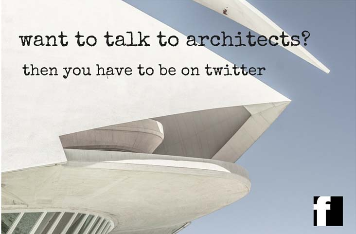 Want to talk to architects