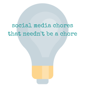 social media chores that needent be a chore